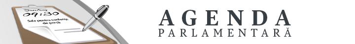 Banner Agenda Parlamentară